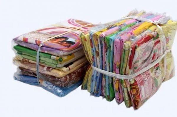 Комплект постельного белья из синтетики